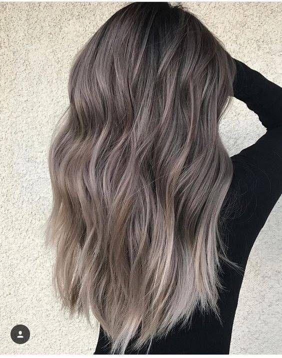 Włosy Ombre Szarości Włosy Ombre Najgorętsze Kolory