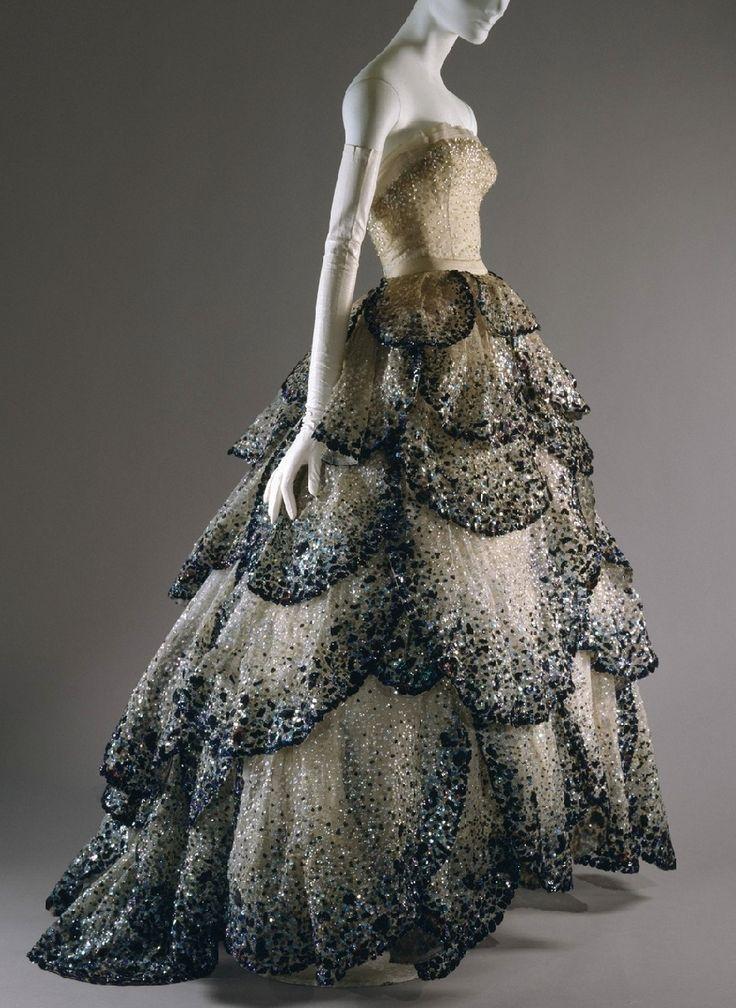 """Christian Dior Haute Couture  """"Junon"""" gown, 1949"""