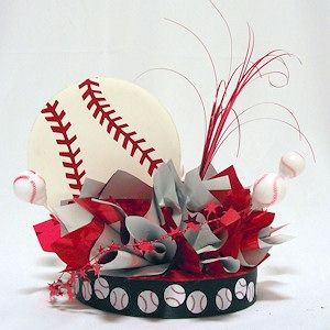 Baseball Have a Ball Centerpiece