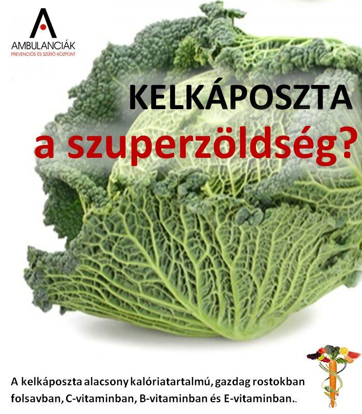 Nem is olyan rég még Európa egyik legnépszerűbb zöldsége volt. Egyben az egyik legegészségesebb is. Nagyszerűen kiegészíti a téli zsíros és nehéz táplálkozást. Diétázók étrendjében kifejezetten ajánlott. A kelkáposzta alacsony kalóriatartalmú, gazdag rostokban, folsavban, C-vitaminban, B-vitaminban, és főként E-vitaminban. Mivel kalciumtartalma is magas, különösen ajánlott csontritkulásban szenvedőknek.