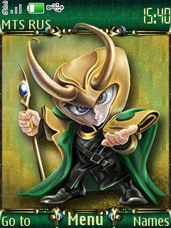 Free Loki theme by mangotango on Tehkseven