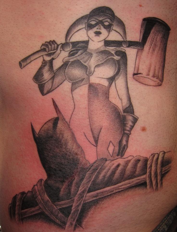 98 best batman tattoo ideas images on pinterest tattoo for Female batman tattoos