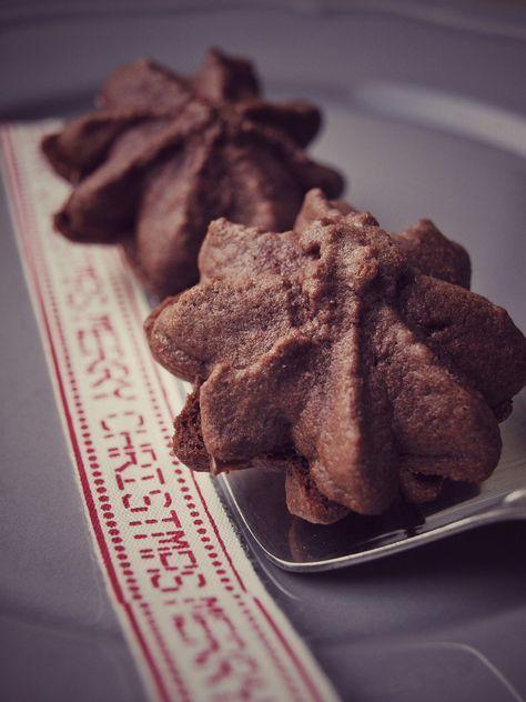 Nougat Tuffs - die besten Nutella Weihnachtskekse der Welt, schokoladig, Rezept von Dr. Oetker - absoluter Liebling zu Weihnachten - Schokkekse mit Nutella