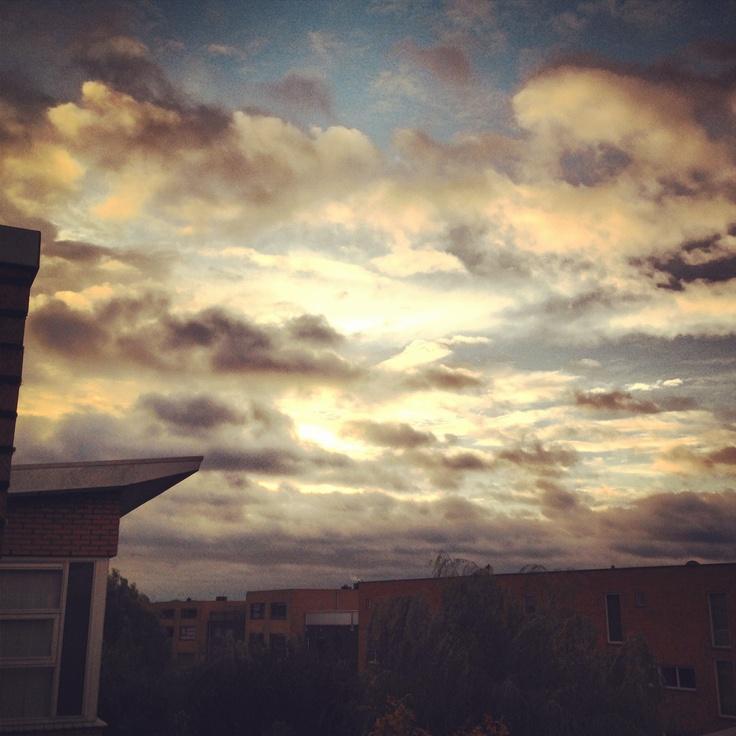 Sunrise, Amersfoort. October 2012
