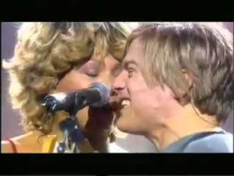 Tina Turner - It's Only Love (with Bryan Adams) - YouTube.....I love this to death! it was Tina's 60th birthday......hope I'm still rocking at 60!!