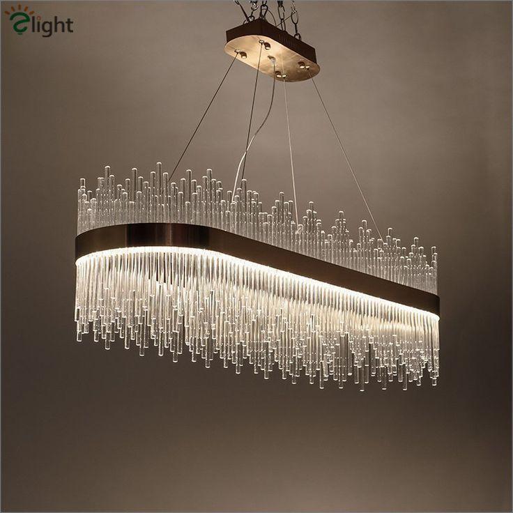 Post Modern Luxury Crystal Led Pendant Light