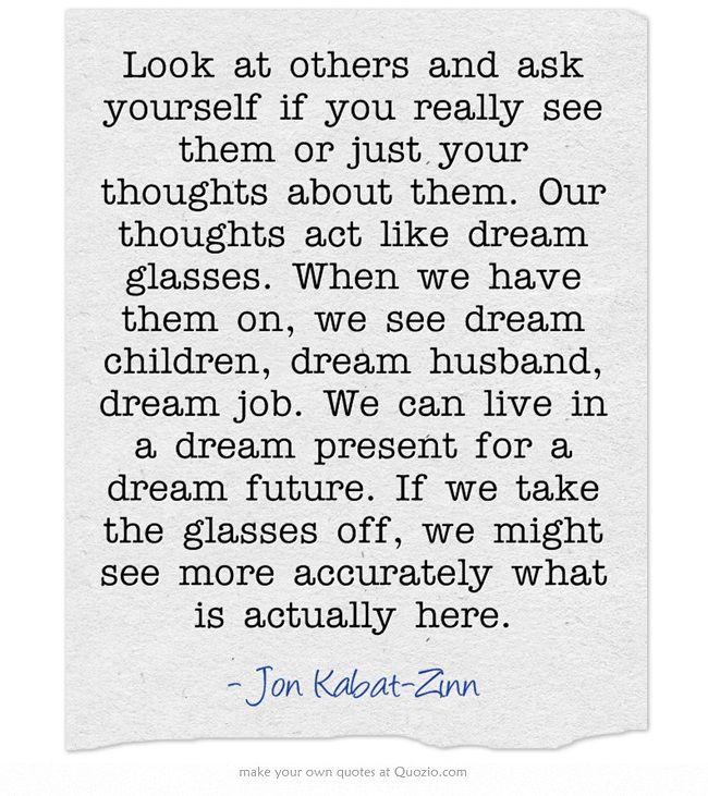 Dreams vs Reality - Jon Kabat-Zinn #mindfulness