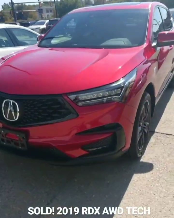 Sold 2019 Rdx Awd Tech A Spec In Performance Red Pearl Acura Acuracolumbus Acurardx Acurardx2019 2019acurardx Rdx A Acura Rdx Beautiful Cars Awd