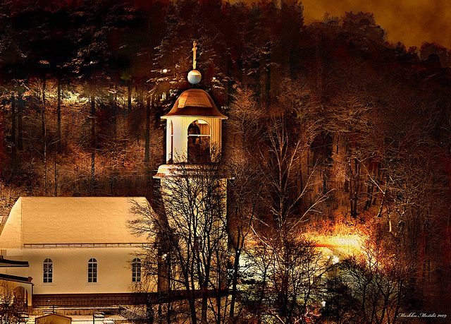 Orthodox Church of Lahti, Finland by markku mestila, via Flickr