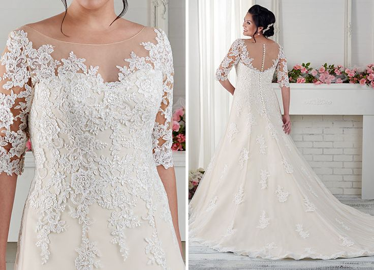 Bonny Bridal 1618 from the Unforgettable collection