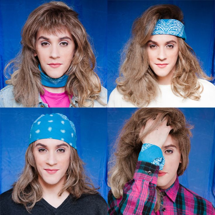 How to use a bandana without looking like a pin-up - Fashion Photography By Patty Owens http://pattyowensdiary.tumblr.com/ - Fashion Queer 1990s Transvestite - Trasvestism - transgender - LGBTQ