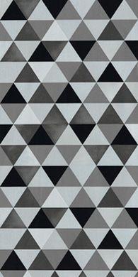 Papier Peint Geometrique Triangles Noir Et Blanc Gris Papier Peint