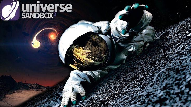 Universe Sandbox 2 - СТОЛКНОВЕНИЕ ДВУХ ЧЕРНЫХ ДЫР! #58 (ЧЕРНАЯ ДЫРА ПОГЛ...