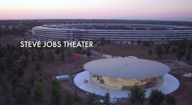 Apple news. Apple news. New Apple Park Drone Video Shows Off Steve Jobs Theater as Lobby Lights Up [video]