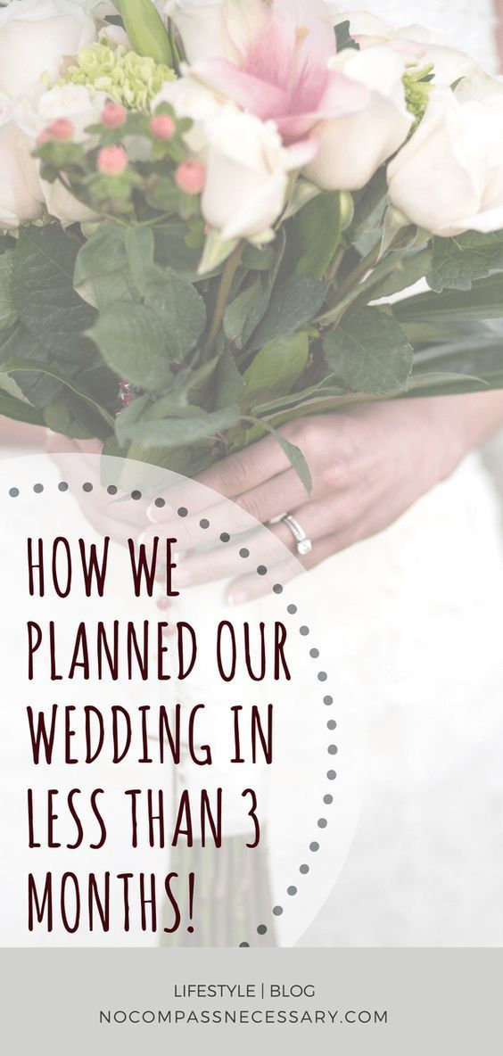 Plan your Wedding- The first 3 months step by step process ... |Planning Our Wedding
