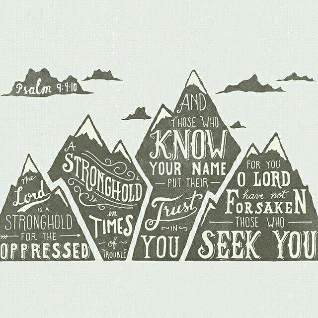 Psalm 9:9, 10