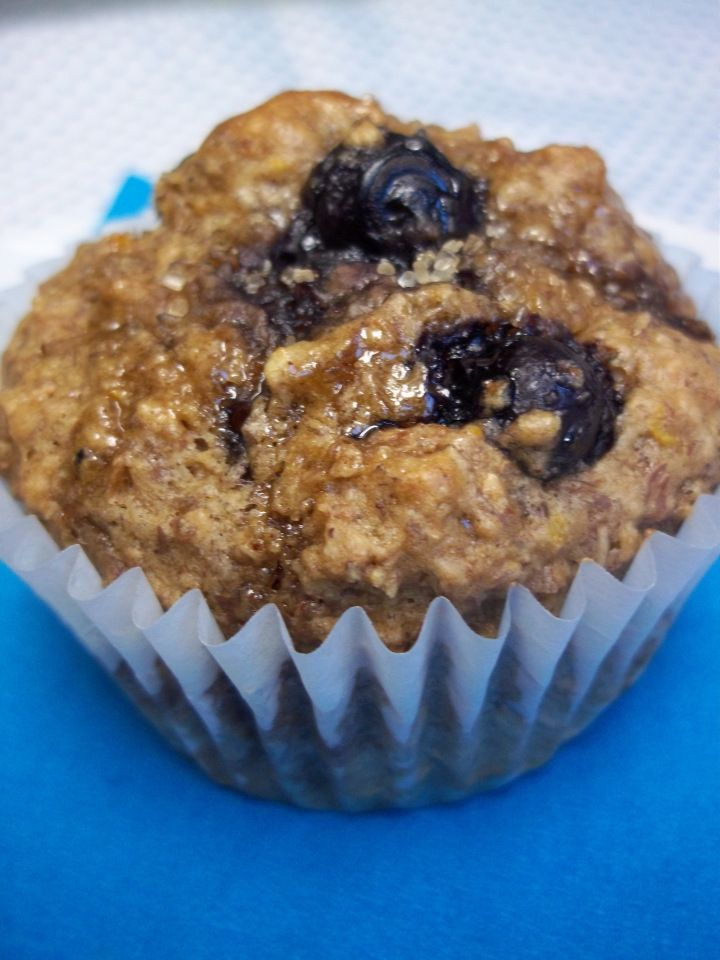 When life gives you Ezekiel cereal, make muffins!