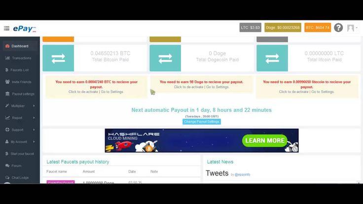 Обзор-вывод с BITGAMES приятный бонус от реферала   Обзор EPAY