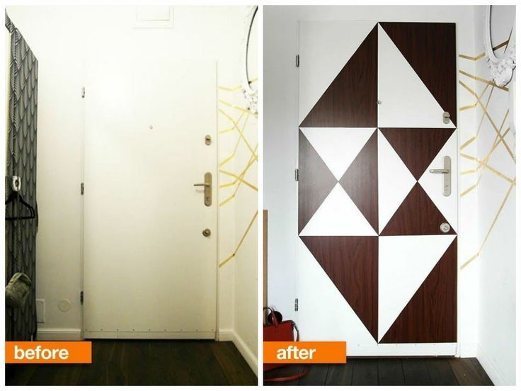 16 best masonite transformations images on pinterest barn doors stunning diy makeover for bland front door interior planetlyrics Gallery