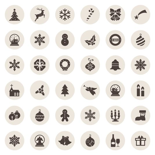 Get in the festive spirit with these free Christmas icons – available to download now!