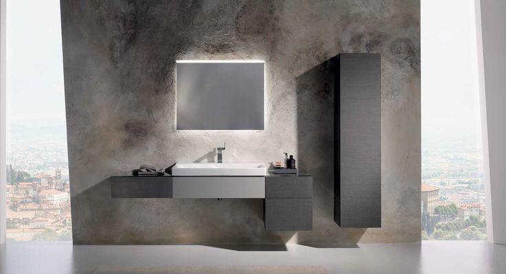 Badkamermeubelen zoals de Keramag Xeno2 die individuele vrijheid bij het samenstellen mogelijk maken.