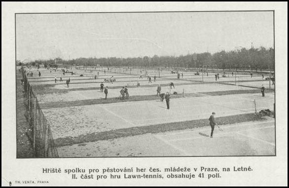 Praha - Letná 1922  Krasa!