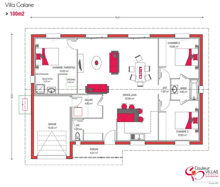 Les 20 meilleures id es de la cat gorie plans de maisons for Villa contemporaine plan