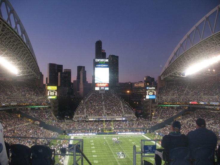 Centurylink Field, Seattle, WA - Football