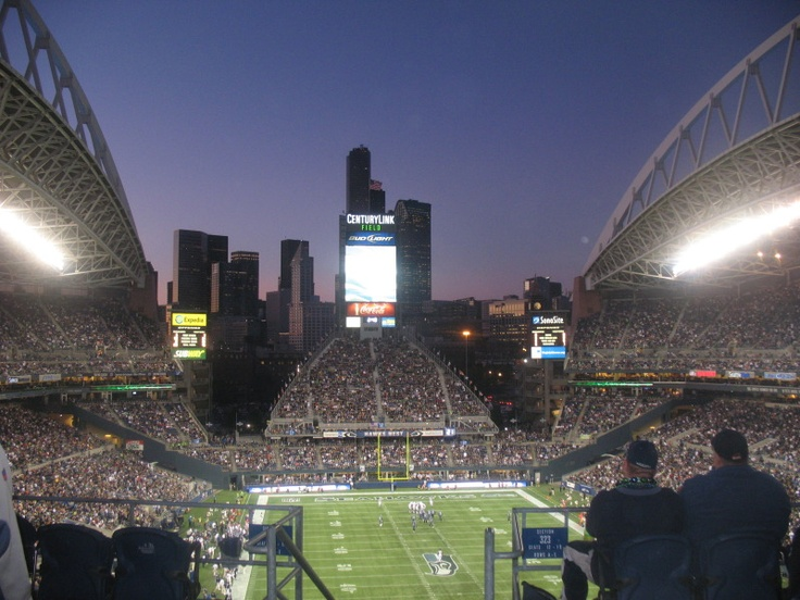 CenturyLink Field, Seattle, WA.