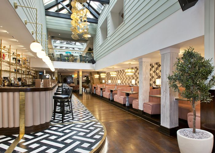 Commercial interior designers specialising in the leisure hospitality sector