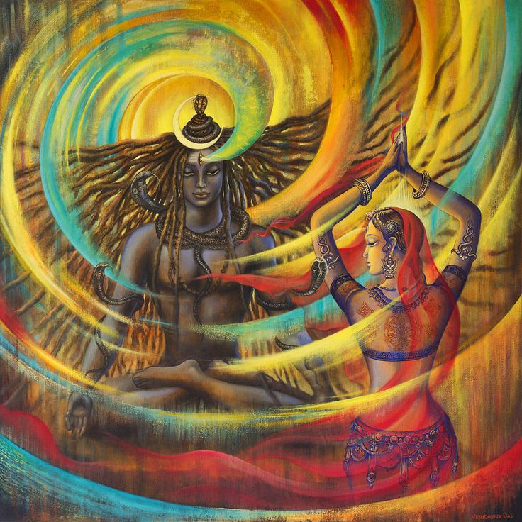 Shiva Shakti Painting
