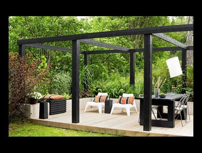 7 besten balkon pergola bilder auf pinterest balkon pergolen und landschaftsbau. Black Bedroom Furniture Sets. Home Design Ideas