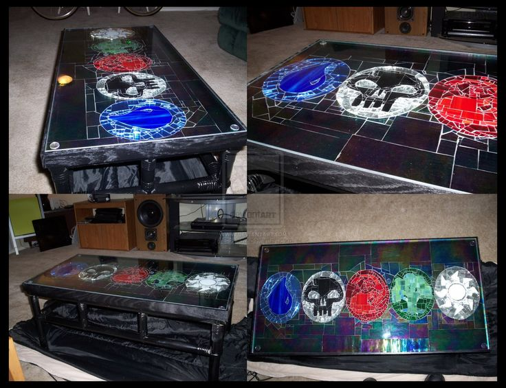 Magic the Gathering Table by ~BlopNuts on deviantART
