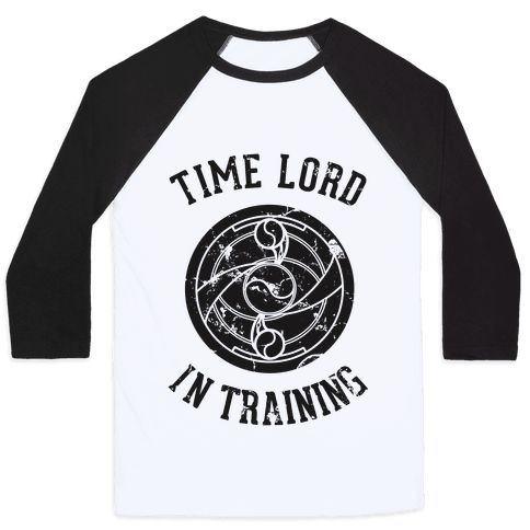 Time Lord In Training - The space time continuum has nothing on you with this time traveling power shirt. Training for the day your services are needed with this Madoka anime mahou shoujo magic girl doctor who time lord mashup!