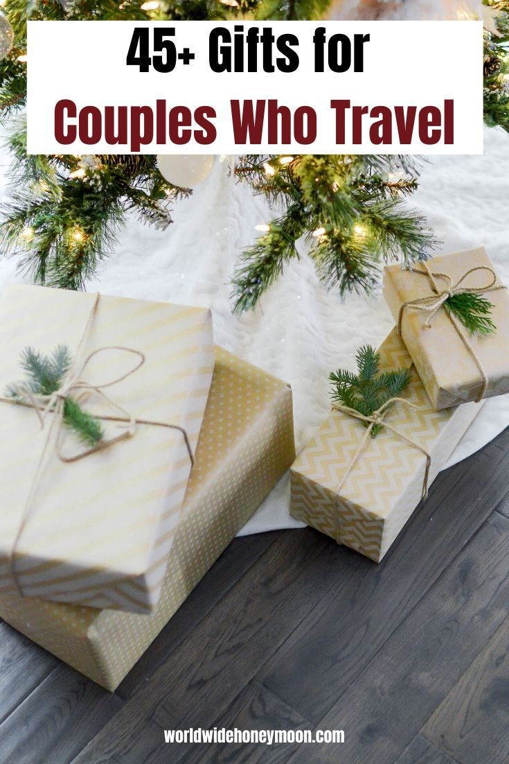 45 Best Gifts For Couples Who Travel World Wide Honeymoon Christmas Gift Guide Holiday Gift Guide Christmas Gifts For Kids