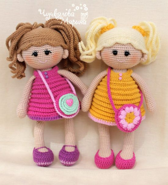 Basic Crochet Doll Pattern Free : 25+ best ideas about Crochet Dolls on Pinterest Crochet ...