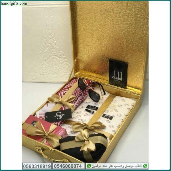قماش دنهل أو جفنشي أو كارتير أو مونت بلانك أو فرزاتشي أبيض أو كريمي هدايا هنوف Gifts Gift Wrapping Music Instruments