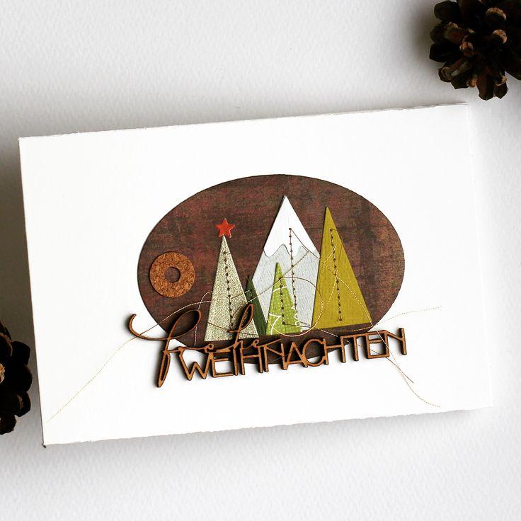 2456 besten karten weihnachten bilder auf pinterest. Black Bedroom Furniture Sets. Home Design Ideas