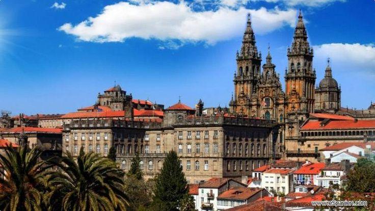 Der schönste Ort Santiago de Compostela in Spanien Weitere interessante Informationen über Spanien und nicht nur auf http://www.espanien.com/galicien/santiago-de-compostela