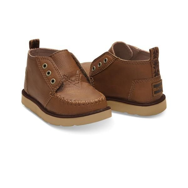 Toms - Brown Chukka Boot - Shop our full selection of kids clothes and toys at shoppigment.com