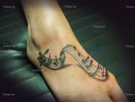 happy feetTattoo Ideas, Music Note, Feet Tattoo, Body Art, Crazy Tattoo, Music Tattoo, Beautiful Body, Note Tattoo, Foot Ideas