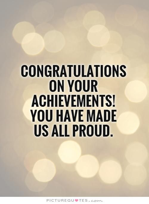 25 Best Congratulations Quotes On Pinterest