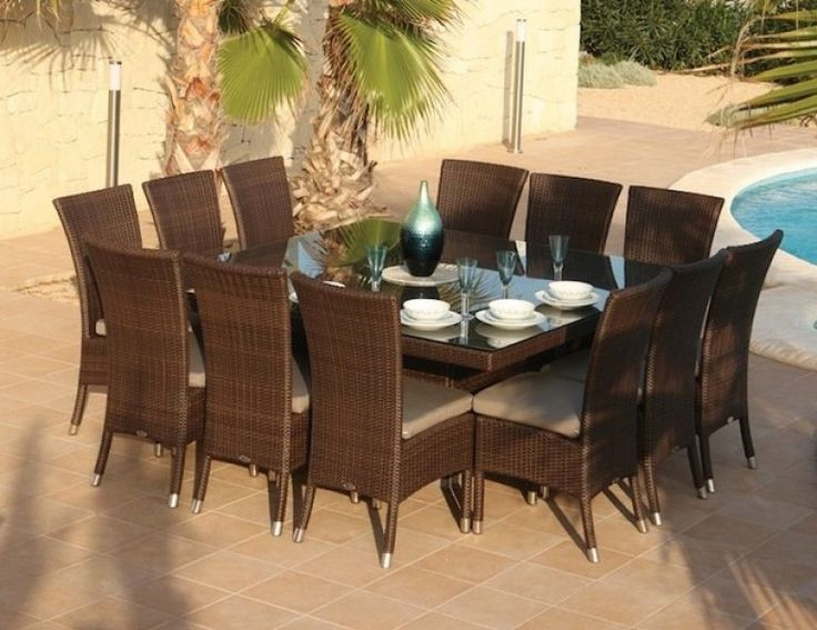 12 Seater Dining Table Part - 46: Magnificent 12 Seater Square Dining Table Dining Room Wonderful Skyline  Pacific And Lamoni 12 Seat Square