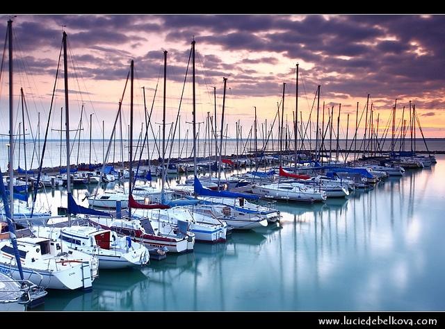 Colours of the Lake Balaton