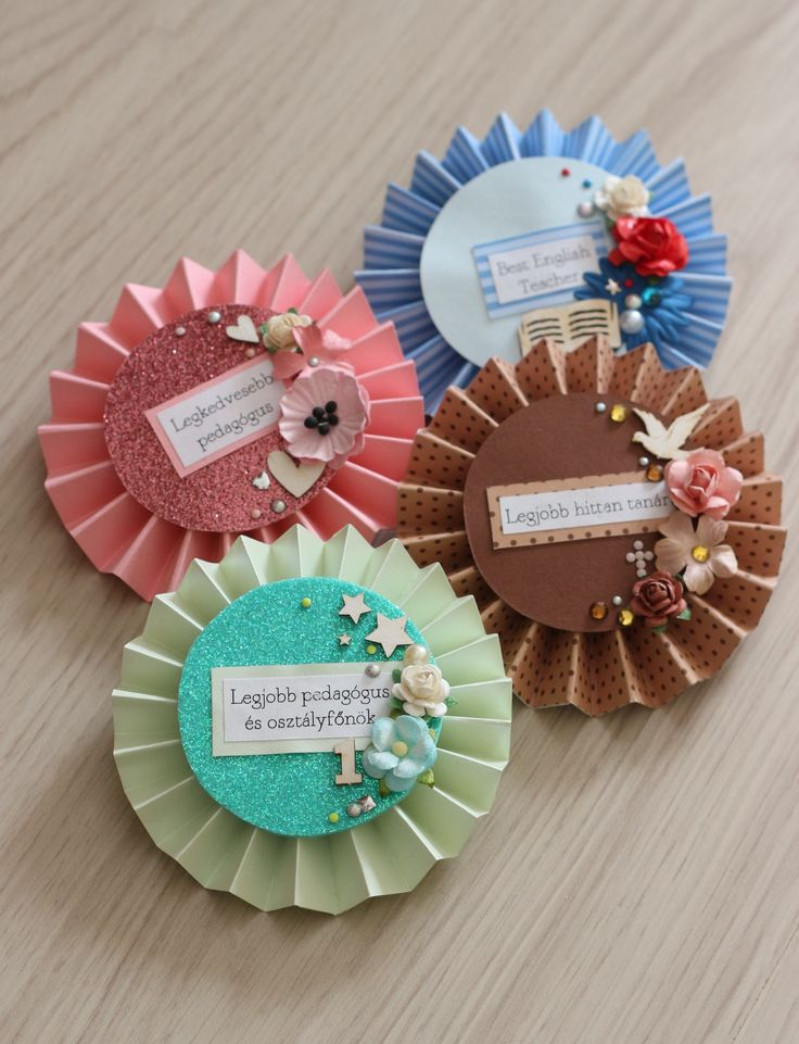 teacher gifts by Fraupester