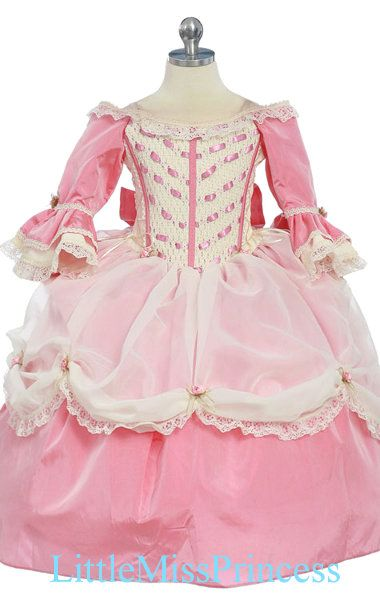 the ultimate toddler princess dress...gorgeous! However unless I find it at consignment...