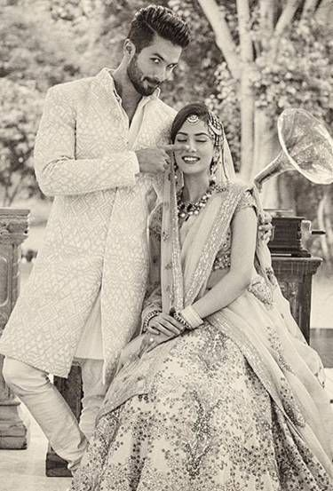Shahid Kapoor-Mira Rajput's candid shot