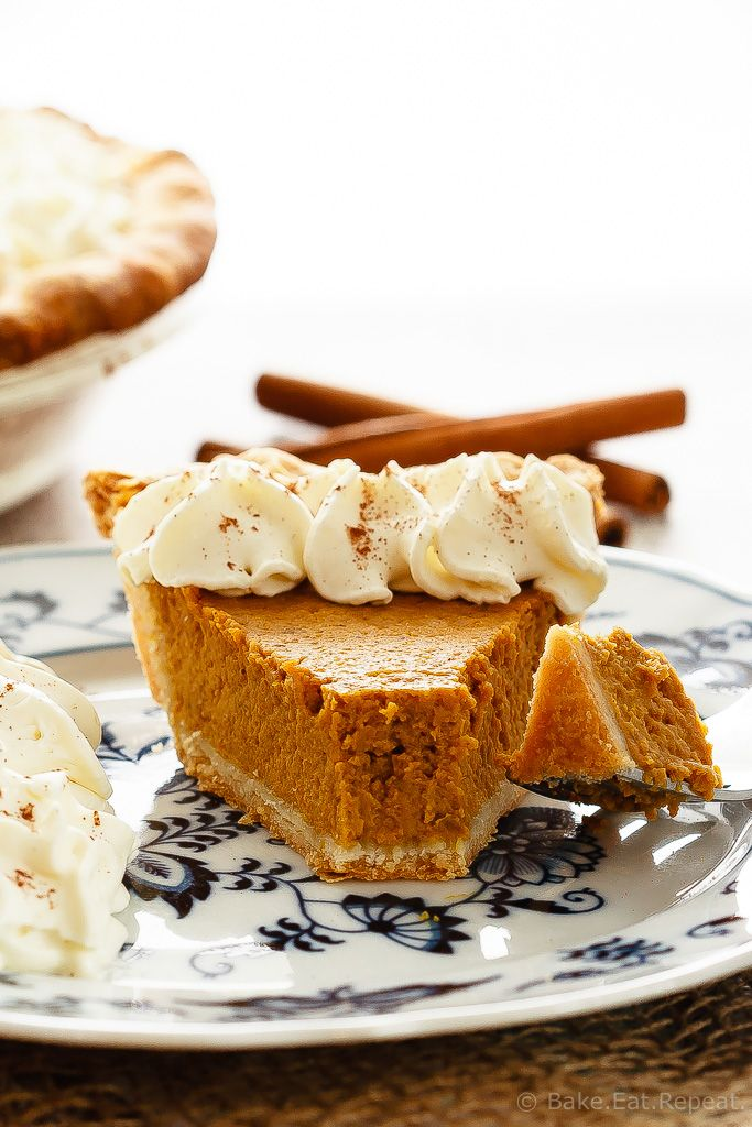 Pumpkin Pie - This pumpkin pie is my Grandma's recipe - it's so much better then the store-bought pumpkin pie. If you've never made homemade pumpkin pie, try it today!