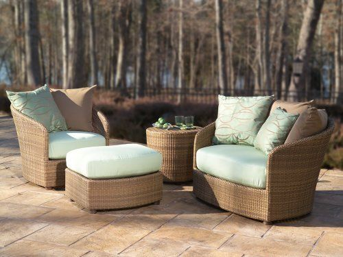 WhiteCraft Oasis Wicker 4 Piece Chat Package By WhiteCraft. $3598.96. Over  100 Different