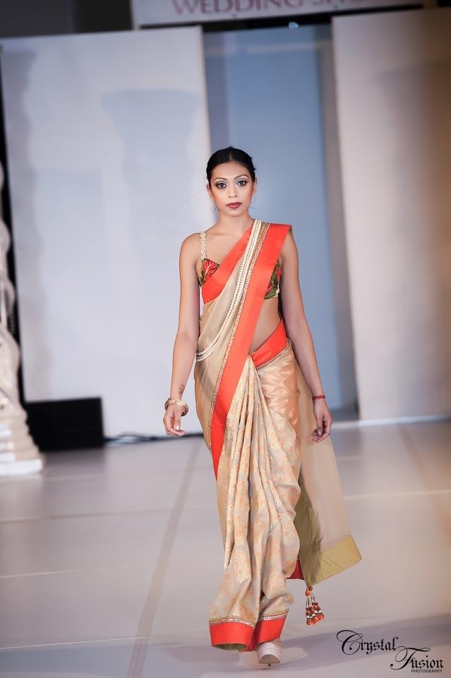 Ohm Bridal Fashion Show 2013   Wearing Sarees Botique